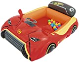 Bestway Hot Wheels Children\'s Inflatable Car Ball Pit, Includes 25 Balls