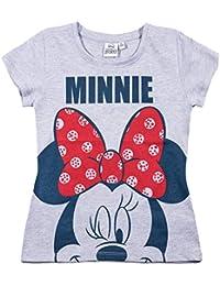 Disney Minnie Mädchen T-Shirt - grau
