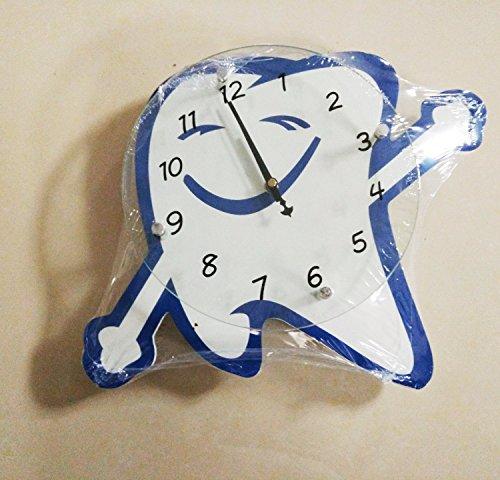 Reloj de pared en forma de dientes con manos dentadas dentis dental surgeon regalo utilizado para...