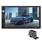 KEZIO 7 Zoll Auto Stereo Radio MP5 MP3 Player FM USB AUX Full HD Bluetooth Touchscreen Rückfahrkamera Auto MP4 Spieler