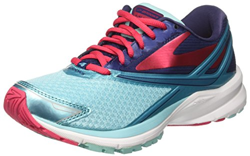 Brooks Launch 4, Scarpe da Corsa Donna Turchese (BlueRadiance/PatriotBlue/VirtualPink)