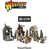 WGTER01 Warlord Games 28mm Bolt Action - Ruined Hamlet (3x Buildings)