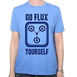 Inspired by Back To The Future T Shirt - Go Flux Yourself