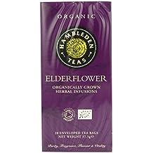 (Pack Of 2) - Organic Elderflower Tea Bags | HAMBLEDEN HERBS
