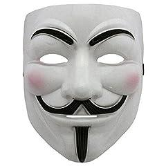 Idea Regalo - 2015 NUOVO V per Vendetta Maschera con Eyeliner narice Anonymous Guy Fawkes Fancy Adult Costume Accessori Halloween Maschera Boolavard Ltd