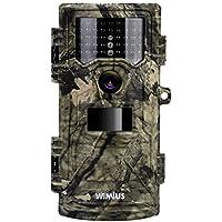 WiMiUS Camara De Caza 12Mp 1080P, Camara Caza Con 940nm Luz Invisible, Camara Caza