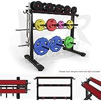 Preisvergleich für We R Sports Dumbbell & Weight Plate Storage Rack Stand Holder Home Gym Workout