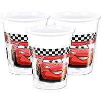 Disney 46918 Pixar Cars Party Decoration Cups Plastic, 200 ml