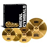 Meinl Cymbals HCS141620 HCS Cymbal Box Set Pack with 14-Inch Hi Hat Pair, 16-Inch Crash, 20-Inch Ride