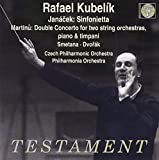 Rafael Kubelik / L. Janacek - B. Martinu - B. Smetana - A. Dvorak