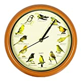 Genio Ideas Pájaro Canción Reloj