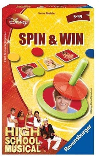 Ravensburger 23283 - High School Musical: Spin & Win Mitbringspiel [Importado de Alemania]