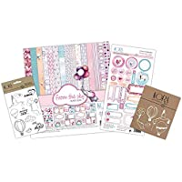 KIT para scrapbooking Girl from the sky