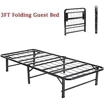 3FT Single Folding Metal Frame BedEggreeTM Fold Up Away Spare