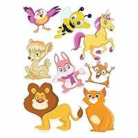 DekorLoft Şirin Hayvanlar Çocuk Odası Sticker CS-261