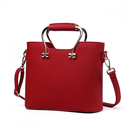 byd-pu-leather-woman-metal-handle-handbag-tote-bag-shoulder-bag-mutil-color