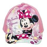 Minnie Maus Kappe Cap Cappy für Kinder in Rosa/Türkis (52, Rosa)