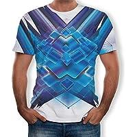 Beladla Camisetas Hombre Y Mujer Camuflaje 3D Floral Personalidad Casual Slim Fit Camisas Blusa Tops Polos Chaleco