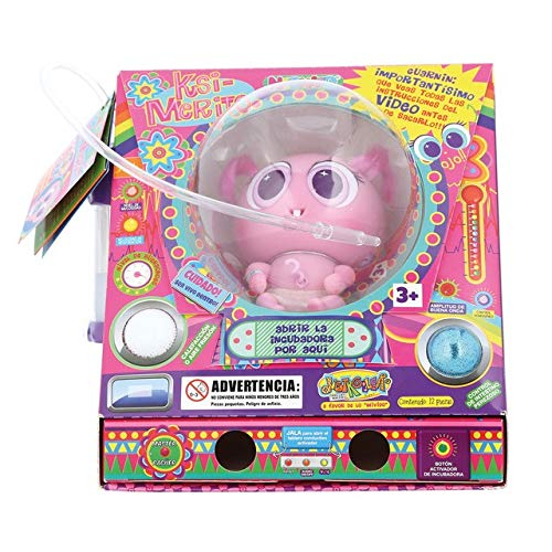 DISTROLLER Neonato Ksimerito Manchincuepa con Experiencia y Etiqueta Adhesiva, Color Rosa (7506176961273)