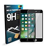 MTT Apple iPhone 7 Plus 3D Full Body Premium Quality Tempered Glass Screen Protector Guard (Black)