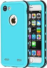 iPhone 7/8 4.7 Zoll Wasserdichte Hülle, 4.7 Zoll Outdoor Staubdichte Schneedichte Stoßfeste Wasserdichte Schutzhülle für Schnorcheln Tauchen und Schwimmen