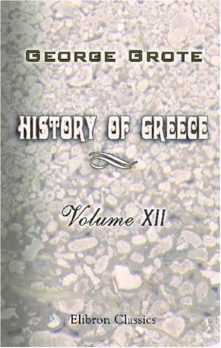History of Greece: Volume 12