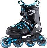 K2 Velocity Jr Inliner Girl´s Inline Skates Jungen Black/Blue 3050901, Schuhgröße:29-34