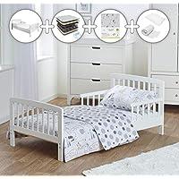 Kinder Valley Deluxe Spring Toddler Bed Bundle 7 Piece Safari Friends