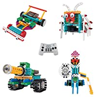 Think Gizmos Build Your Own Robot Toys For Kids - Ingenious Machines Remote Control Robot Building Kit