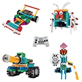 Think Gizmos Build Your Own Robot Toys For Kids – Ingenious Machines Remote Control Robot Building Kit (Tank, Bug, Racing Car & Knight)