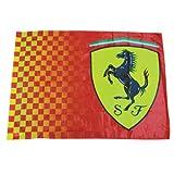 Neue FERRARI Fahne Flagge 100 x 140cm rot Scudetto Formel 1 Alonso