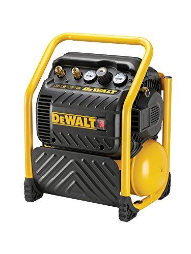 Dewalt DPC10QTC-QS DPC10QTC-QS-Compresor de 9,4L Super silencioso, Sin aceite de 1.100W