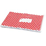 "50 Pcs 9"" x 12"" 230MM X 305MM Red Polka Dot Plastic Strong Self Seal Mailing Postal Postage Bags"