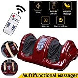 Sterling Kneading And Rolling Foot Massager Pain Relief Machine With Remote (Black)