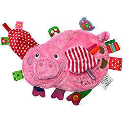Vital Innovations LL-FR1203 Label-Label - Cerdito de peluche, color rosa