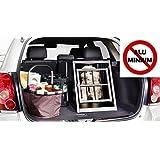 IMPAG® Hunde-Transportbox Hundebox für Auto / Kofferraum | Aus stabilem Metall in 2 Größen | Für Hunde und Katzen | OHNE giftiges Aluminium