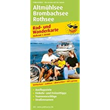 Altmühlsee - Brombachsee - Rothsee: Rad- und Wanderkarte mit Ausflugszielen, Einkehr- & Freizeittipps, wetterfest, reissfest, abwischbar, GPS-genau. 1:50000 (Rad- und Wanderkarte / RuWK)