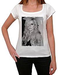 Kesha 1, tee shirt femme, imprimé célébrité,Blanc, t shirt femme,cadeau