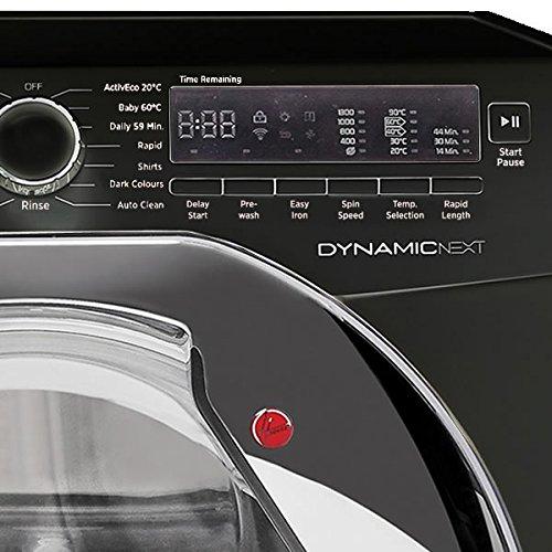 DXC58BC3 A+++ 8KG 1500rpm Washing Machine in Black & Chrome & Delay Timer