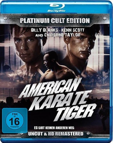 Bild von American Karate Tiger ( Platinum Cult Edition ) [Blu-ray]
