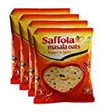 #4: Big Bazaar Combo - Saffola Masala Oats, Pepper and Spice, 40g (Buy 3 Get 1, 4 Pieces) Promo Pack