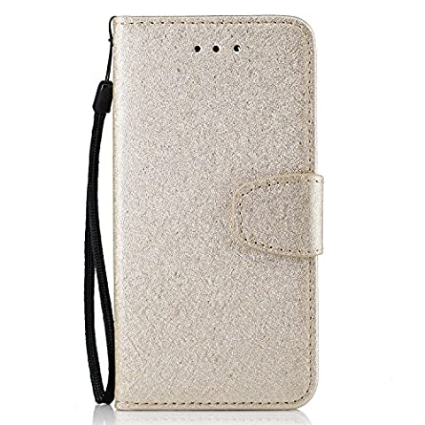 Huawei Honor 7 / Honor 7 Case Leather, Ecoway Silk grain PU Leather Stand Function Protective Cases Covers with Card Slot Holder Wallet Book Design for Huawei Honor 7 / Honor 7 -