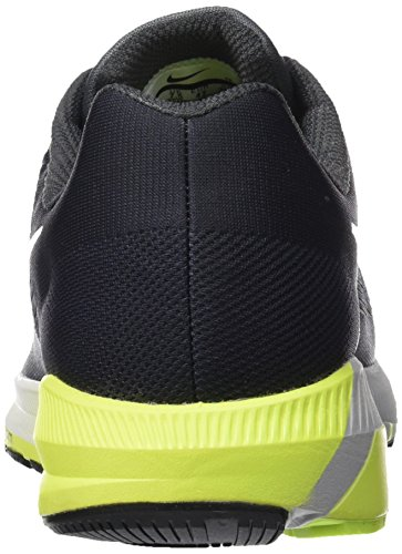 Nike Herren Air Zoom Structure 21 Laufschuhe Grau (Gris Froid/anthracite/vert Volt/blanc 007)