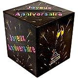 Generique - Tirelire urne Joyeux Anniversaire Chic 20 x 23 cm