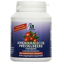 Avitale Preiselbeere amerikanisch Lutschtabletten, 60 Stück, 1er Pack (1 x 72 g) preisvergleich bei billige-tabletten.eu