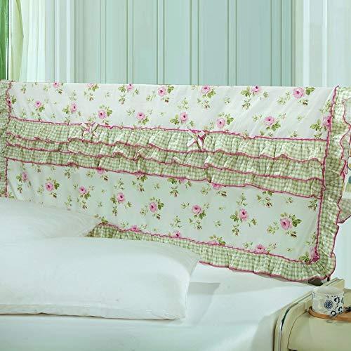 XING GUANG [Verarbeitung] Bettbezug Aus Baumwollgewebe Home-Bett-Rückenschutz Koreanische Version Der Bettdecke Für Damen,11(1.8m)