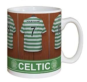 Personalised Celtic Dressing Room Mug Christmas Football Gift Present