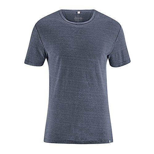 HempAge Herren T-Shirt Hanf Graphit