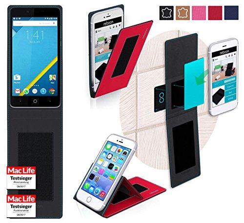 reboon Hülle für Elephone P6000 Tasche Cover Case Bumper | Rot | Testsieger