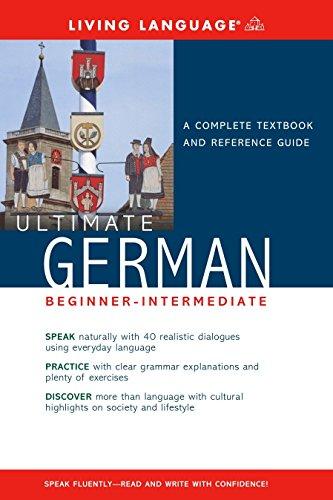 Liv Lang Ult German Beg-Int Book (Ultimate Basic-Intermed)